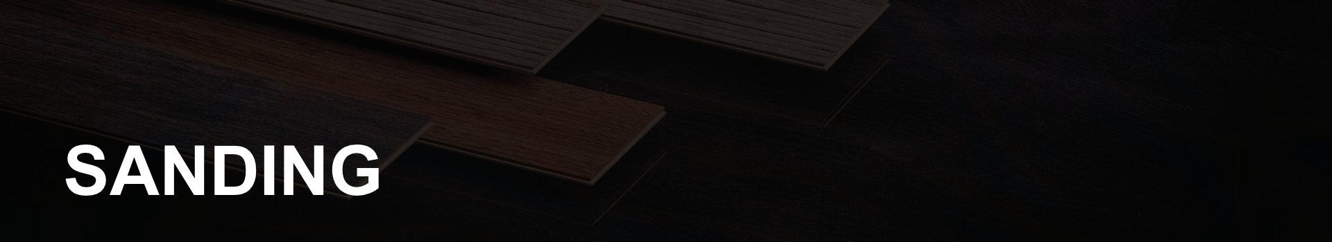sanding hardwood flooring