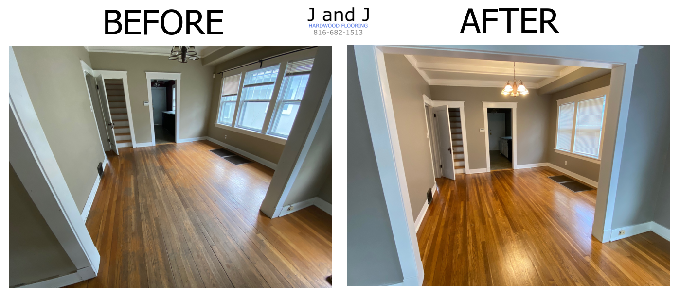 residential floors before after